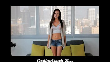 castingcouch x - slut shows her x pic com tight pussy on cam
