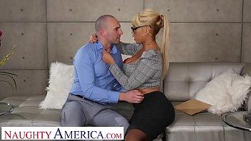 naughty america bridgette b. fucks xxxxxx married man on couch
