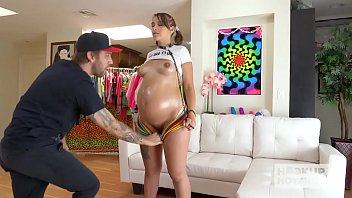 pregnant babe indica monroe worldsexcom has rough hookup with bryan gozzling