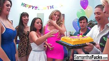 mia khalifa nude pics samantha celebrates her birthday with a wild crazy orgy