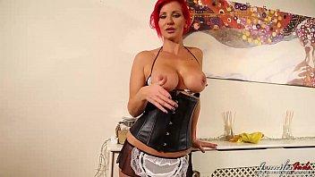 jennifer jade www massageroom com taboo strip as a sexy maid