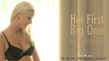 mom sexxxx blonde milf loves his big cock