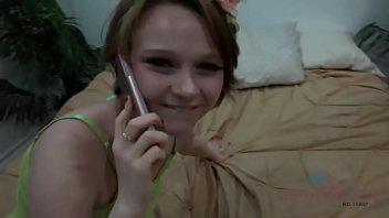 innocent 18 year old sexy ladkiyan girl fucked while on phone with boyfriend pov lucy valentine - amateur