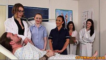 cfnm nurses cocksucking xxx video ww patient in group
