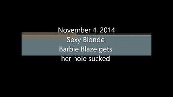 xxxds sexy blonde barbie blaze gets her hole s sucked
