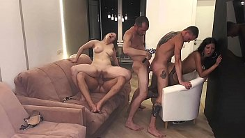 part 3 girls served 3 cocks and were covered xhamster2 in cum..... katty west and oliver strelly
