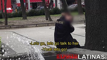 exposed latinas real cop in mexico city gets picked up and nacked sex fucked on camera. senorita policia spanish porn