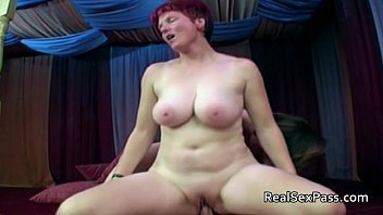 two chubby xxux matures pleasing one man