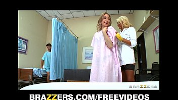 incredibly sexy blond nurse gives her sex flim patients a sponge bath