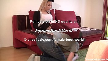 girl nude girl sex in suede boots
