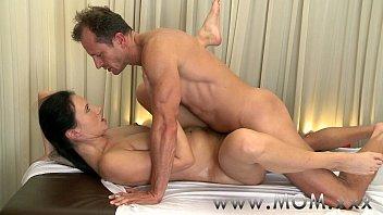 mom kim k nude selfie uncensored brunette has the massage of her life