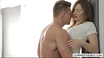 ariadna a xnn com hot love scene with lover while parents are away in her room