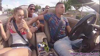 jenny glam videoxx fucked on a car on a public road