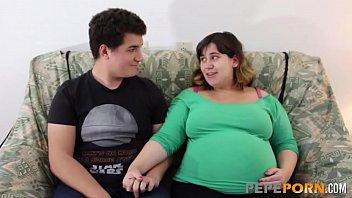 small dicked dude loves wwwwxxxxx banging her preggo bbw girlfriend