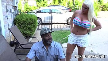 busty milf alura jenson boy undressing girl pounded by a big black cock