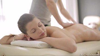 sexy nina lays boobs sexfilmy down on the massage
