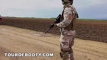nude oil massage tour of booty - american soldiers in the middle east negotiate sex using goat as payment