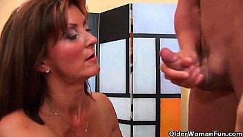 natasha malkova nude horny milf gets a facial from the guy next door