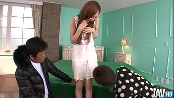 erena aihara looks so sweet in a cream lace xxxxx vidio dress with panties that match