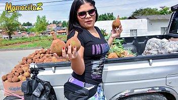 mamacitaz - latina teen jumps on cock in her first porn shoot ever - pronvedio vick valencia
