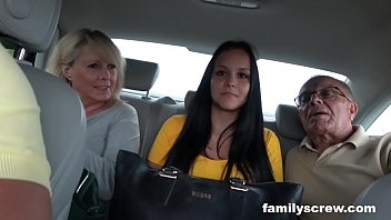 mother and daughter taking live nude tv care of grandpa s needs