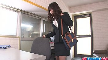 office babe muslim sex movies chinatsu kurusu gives an asian blowjob at work