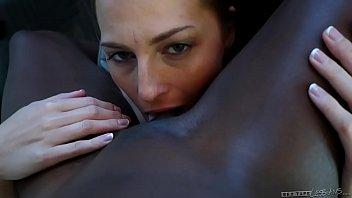 interracial lesbian couple - roxy rox asian nude massage and ana foxxx