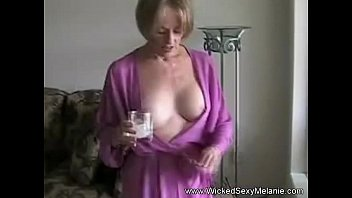 mom grocery store milf lets son do her body