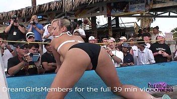 normal spring break bikini contest turns xxxxxxxxxx into wild freaky sex show