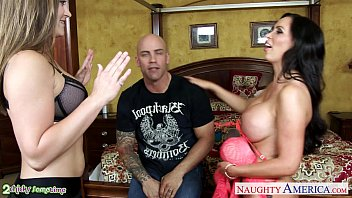 superb chicks old man old woman sex dani daniels and nikki benz share cock
