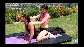 sexy xxxxxxxxxxxxx tight-ass yoga instructor karina white fucks student s cock