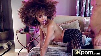 bulufim 5kporn - sexy ebony babe cecilia lion facialed