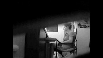 hidden cam caught mommy masturbating at her desk sex vedi - xhamster.com