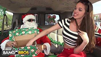 bangbros - a www 3gp king movie com very bang bus christmas with mia monroe and santa claus