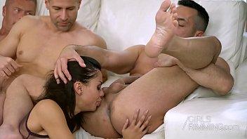 colombian pornstar canela skin ass licking www xxx vodes com 3 guys - girls rimming