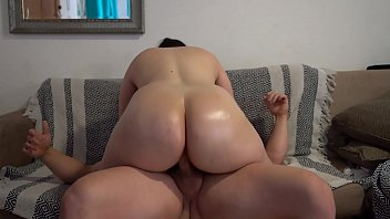 big butt pawg with oiled up ass and xxx move fuck assjob cum