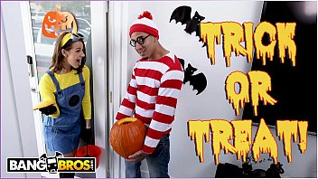 bangbros - trick or treat smell evelin stone s feet. bruno full bf picture gives her something good to eat.