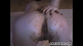 sunny leon fucking amateur girlfriend toying and fucking with a christmas chocolate