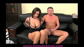 gonzxxx femaleagent big boobed milf results in thick ropes of cum