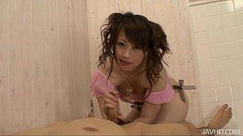 adorable teen kanae serizawa gives her guy a foot job before xxx sexvido gobbling down his h