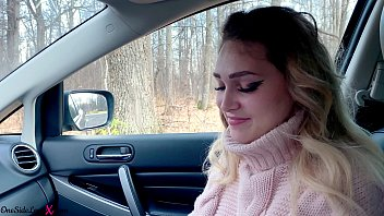 www gonzomovies com blonde deep sucks cock and gets cum in mouth while no one sees - in car