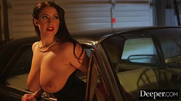 deeper. angela white lures each man mp4porn in to take their turn
