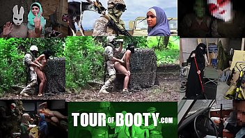 tour of top gun xxx booty - local arab working girl entertains american soldiers in the middle east