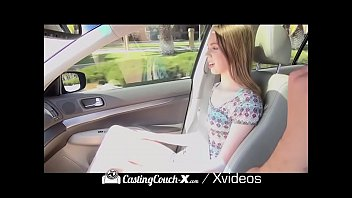 castingcouch-x car foreplay with hot nude live babes compilation