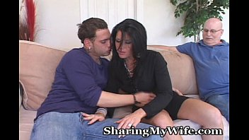 mature housewife seduces y. hot sexy videos man to turn on hubby