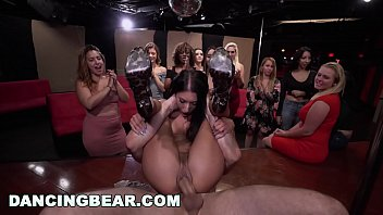 dancing bear - shy girls go wild for saxvideo male stripper dick