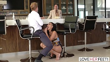loveherfeet sex bf vedio - passionate sex with hot brunette amia miley behind her boyfriends back
