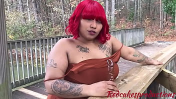 layla red sex without clothes gives public joi