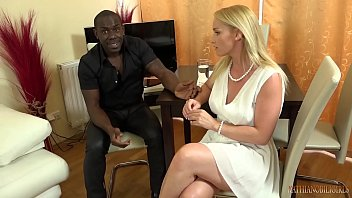 your gorgeous white wife fucking your boss s 11 inches big black cock nude midget right front of you
