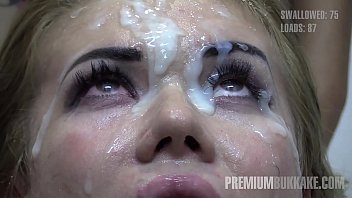 premium bukkake - eva swallows 94 huge mouthful nxxx cum loads